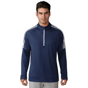 Adidas 3-Stripe Layering 1/4 Zip top. AD037