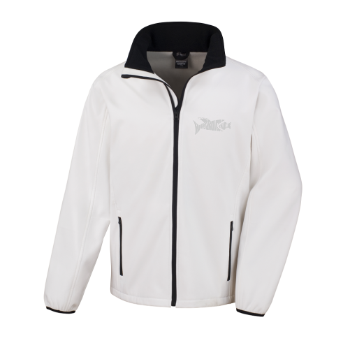 Result Core Softshell Jacket with Market Harborough Swim Club logo back