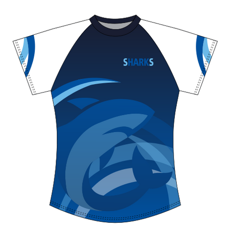 St.Austell Sharks Sublimated T-Shirt