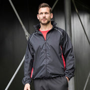 Finden & Hales Showerproof Training Jacket. LV610
