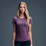 Anvil Women's Triblend Tee. A112F