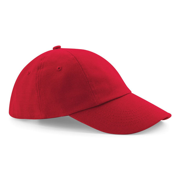 Beechfield Low-Profile heavy cotton drill cap. BC058