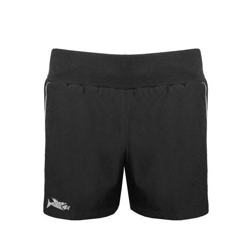 Aptus Performance Fem Short with Market Harborough logo