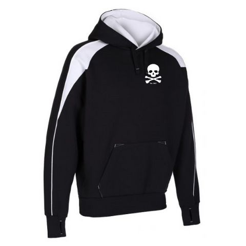 iGen Performance Hoodie, in black and white