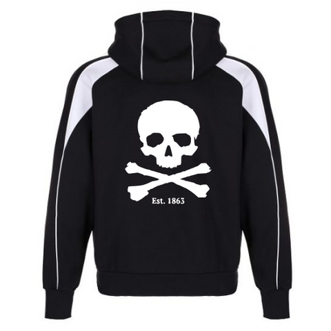 iGen Premium Pro Hoodie in black and white back