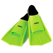 Maru training fins neon green/black