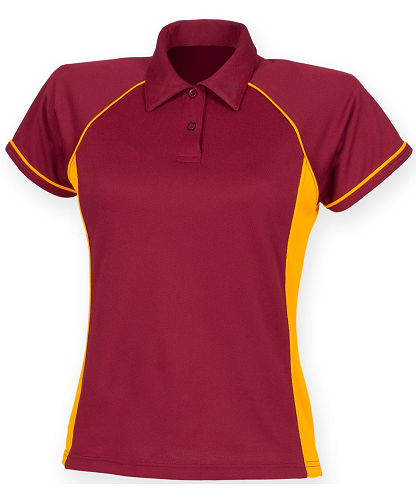 Finden Hales Piped Performance Polo. LV371