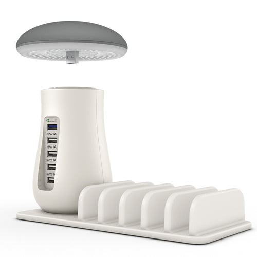 Led light that can illuminate your room and living room saving energy. This mushroom lamp is light, efficient and cozy. Perfect to have at home.
