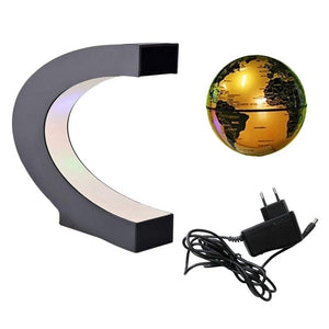 magnetic rotating globe