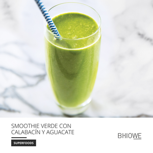 Recipes: Zucchini and Avocado green Smoothie