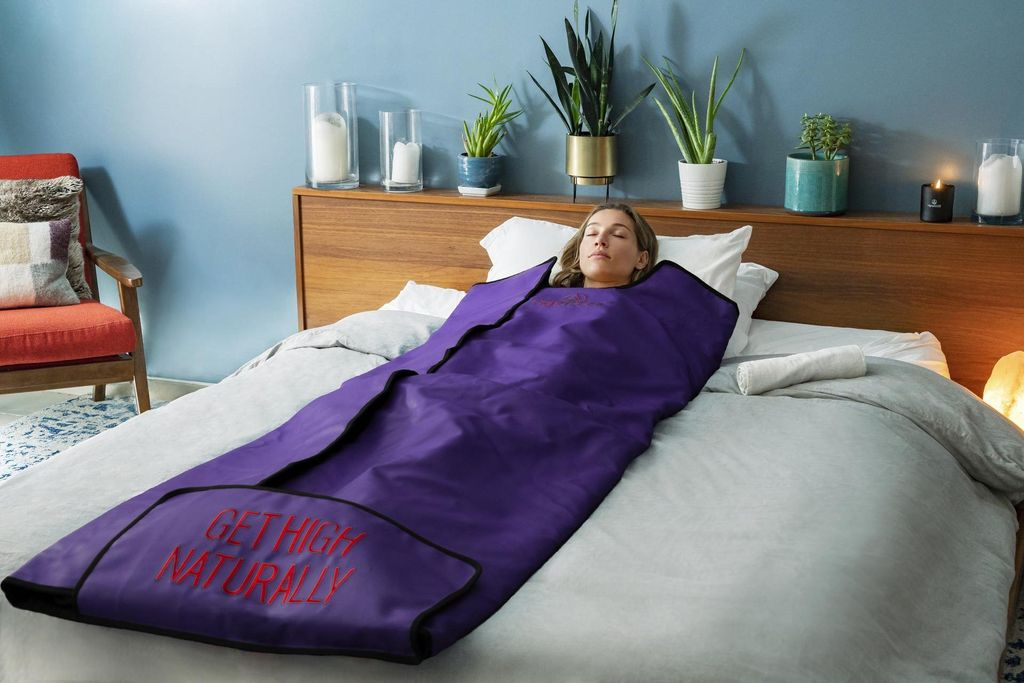 HigherDOSE Infrared Sauna Blanket - The Heat that takes care of your Health & Skin