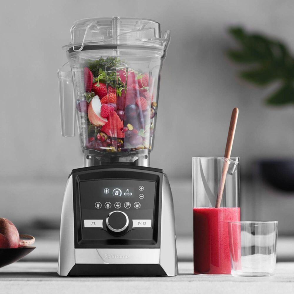 VITAMIX Ascent 3500i Acero inoxidable - batidora inteligente más potente del mundo