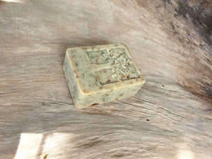 LEAFY AGARWOOD LEAF SCRUB CLEANSING BAR 100G