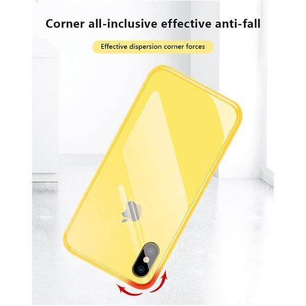 All-inclusive Anti-drop Primary Color iPhone Original Material Phone Case For iPhoneX/XS/XR/XS MAX