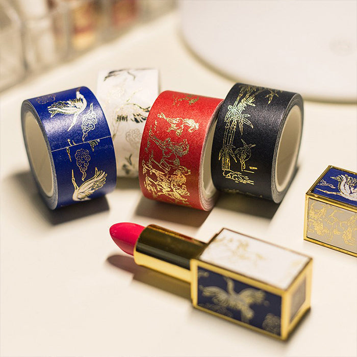 Chinese Antique stickers for Lipstick mascara airpods case iPhone case