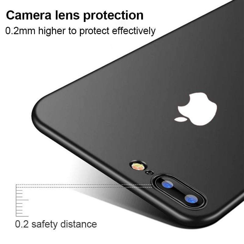Luxury Suitable for IPHONE Series Matte PC Shell With Logo Shockproof Bumper for iPhone 7/iPhone 8/iPhone 7PLUS/iPhone 8 PLUS