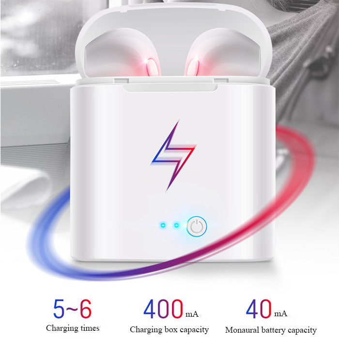 Wireless bluetooth headphones compatible with ios and android systems