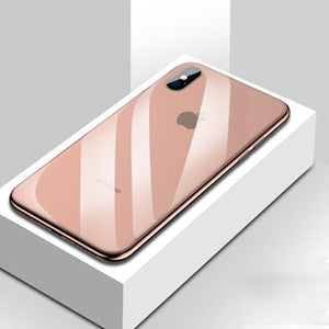 All-inclusive Anti-drop Plating Mirror Original Phone Case For iPhone X/XS/XR/XS MAX -- 6 colors