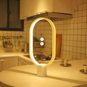 Creative Smart Balance Magnetic Switch LED Table Night Light Lamp(FREE SHIPPING)