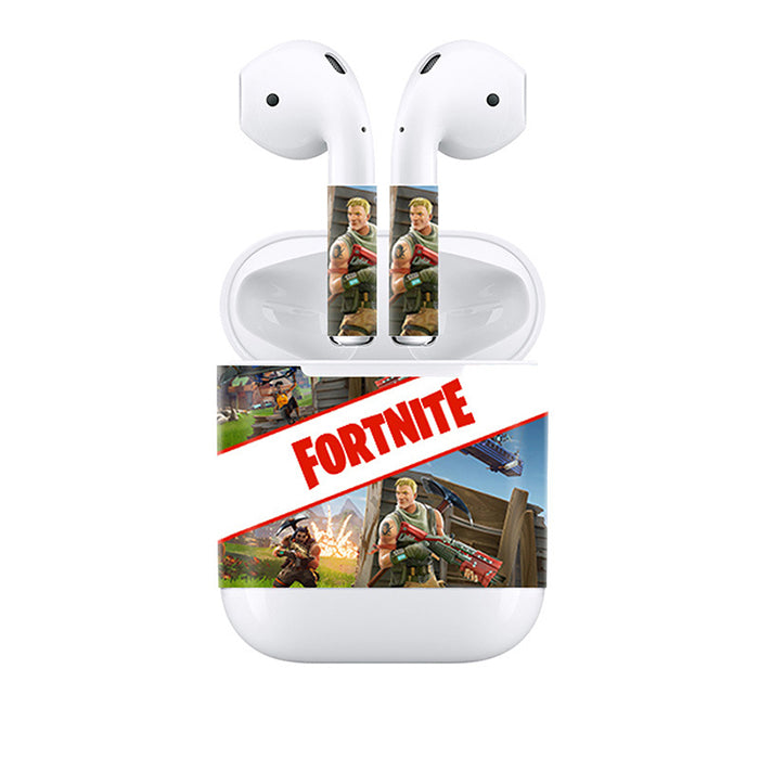 Fortnite Customizable Design for Apple Airpods Skin Stickers Earphone Decal