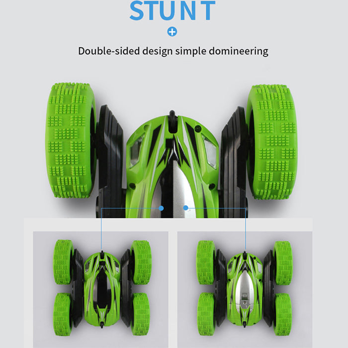 Remote Control Car RC Stunt Car, 4WD Monster Truck Double Sided Rotating Tumbling
