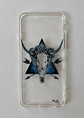 Bull Skull for Samsung S9/ S9 plus / Iphone 6