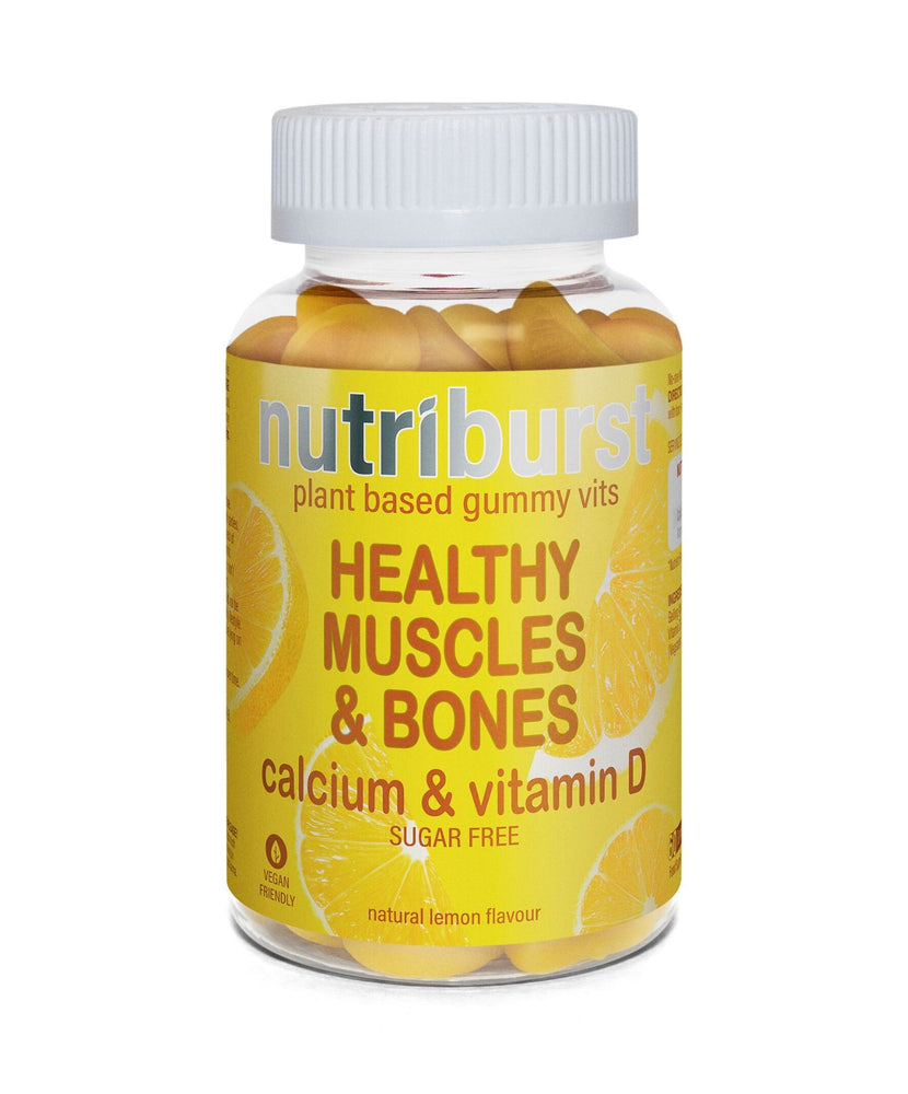 Healthy Muscles & Bones - Calcium & Vitamin D gummies