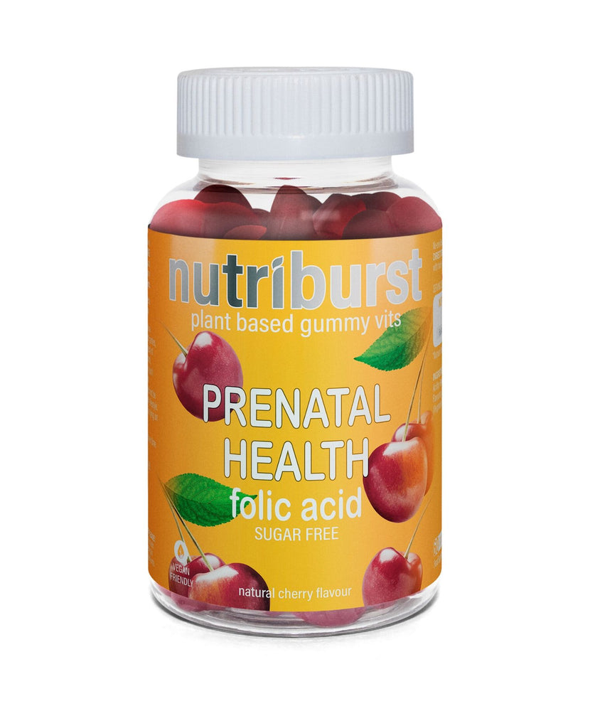 Nutriburst plant based gummy vits. PRENATAL HEALTH. Folic acid