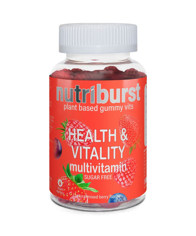 Nutriburst plant based gummy vits. HEALTH & VITALITY. Multivitamin
