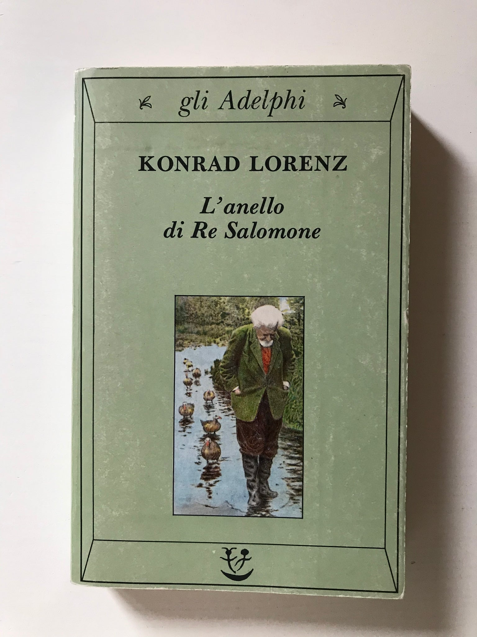 Konrad Lorenz - L'anello di Re Salomone