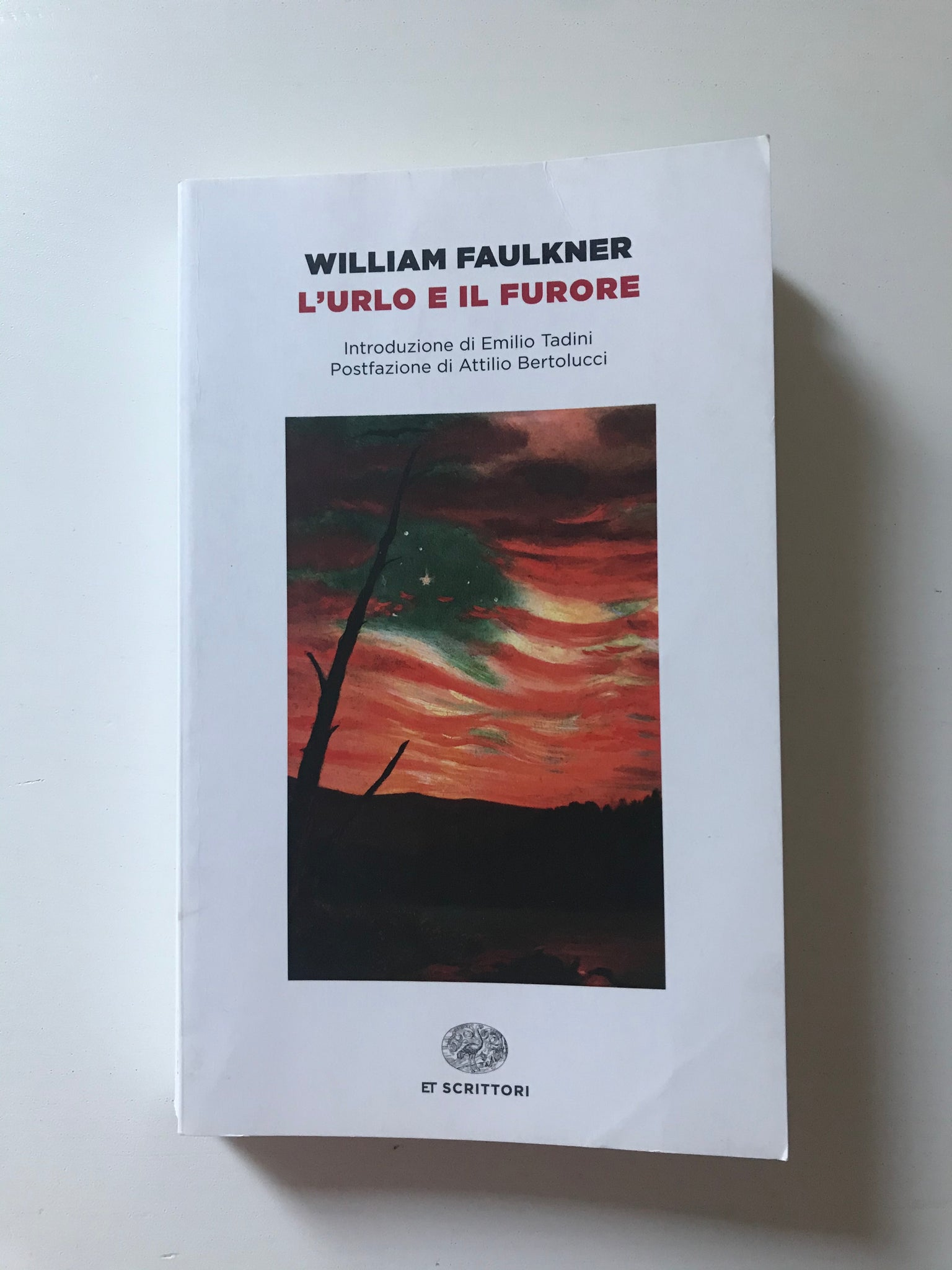 William Faulkner - L'urlo e il furore