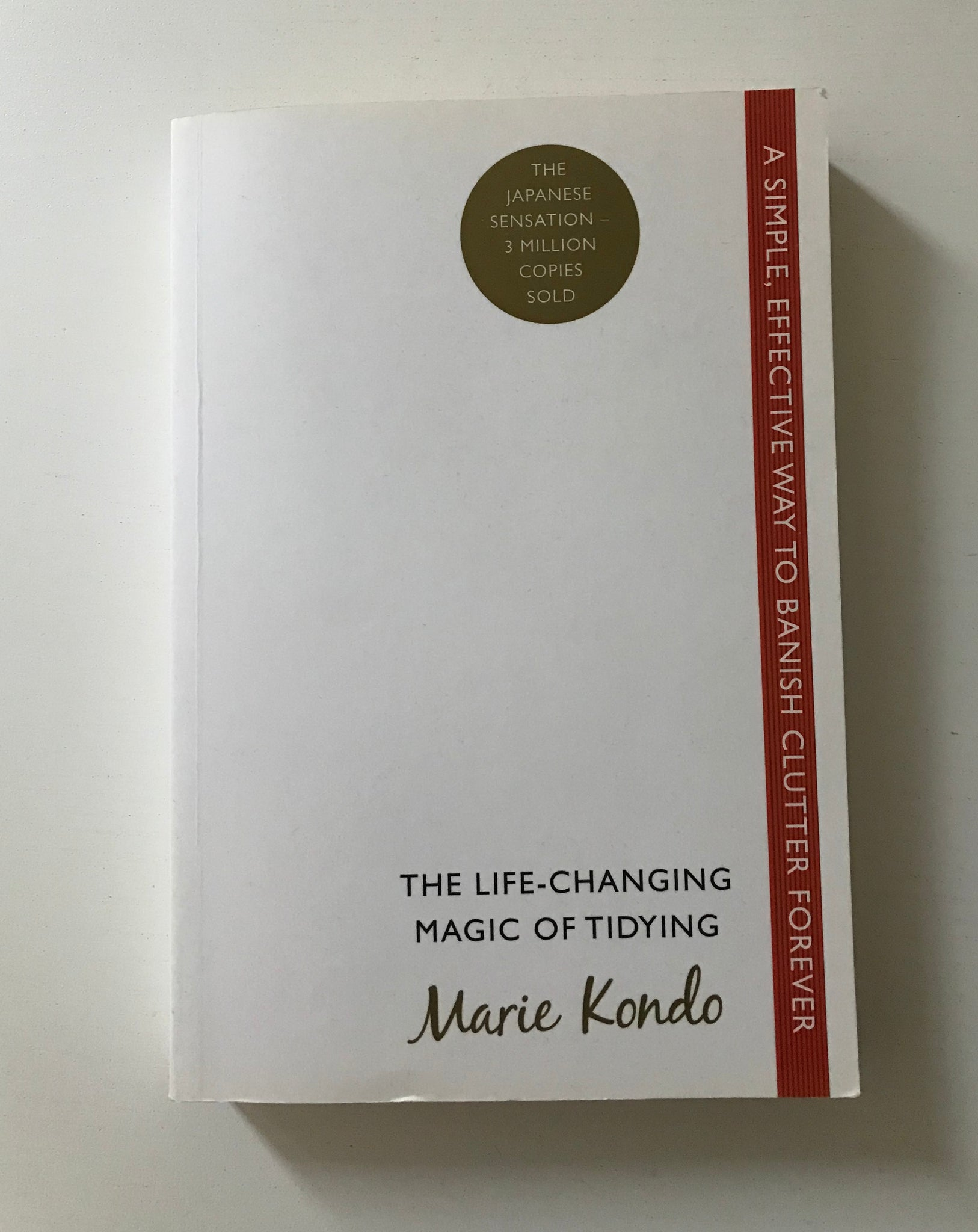 Marie Kondo - The life-changing magic of Tidying