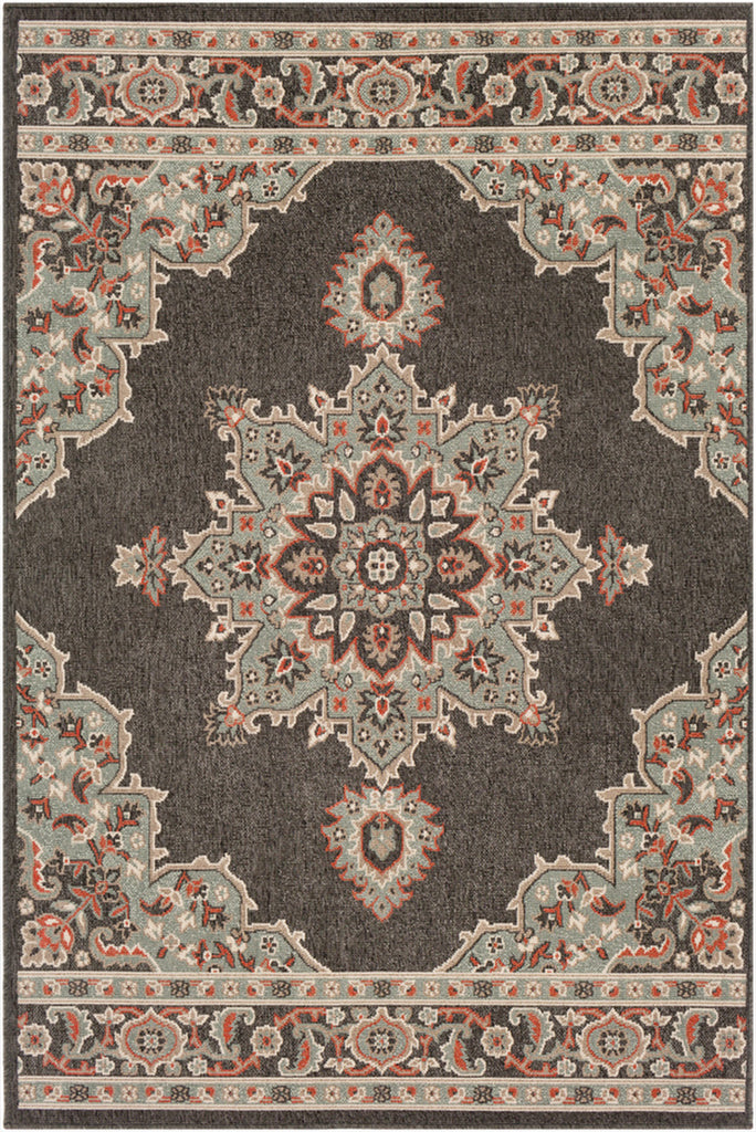 Aperto Medallion Indoor Outdoor Rug