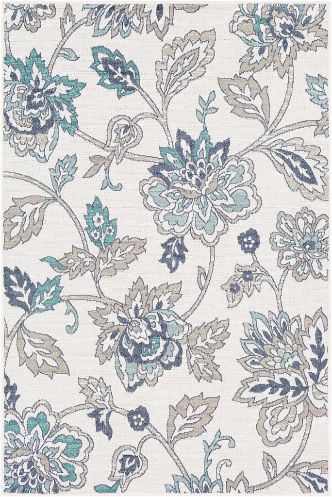 Aperto Floral Indoor Outdoor Rug