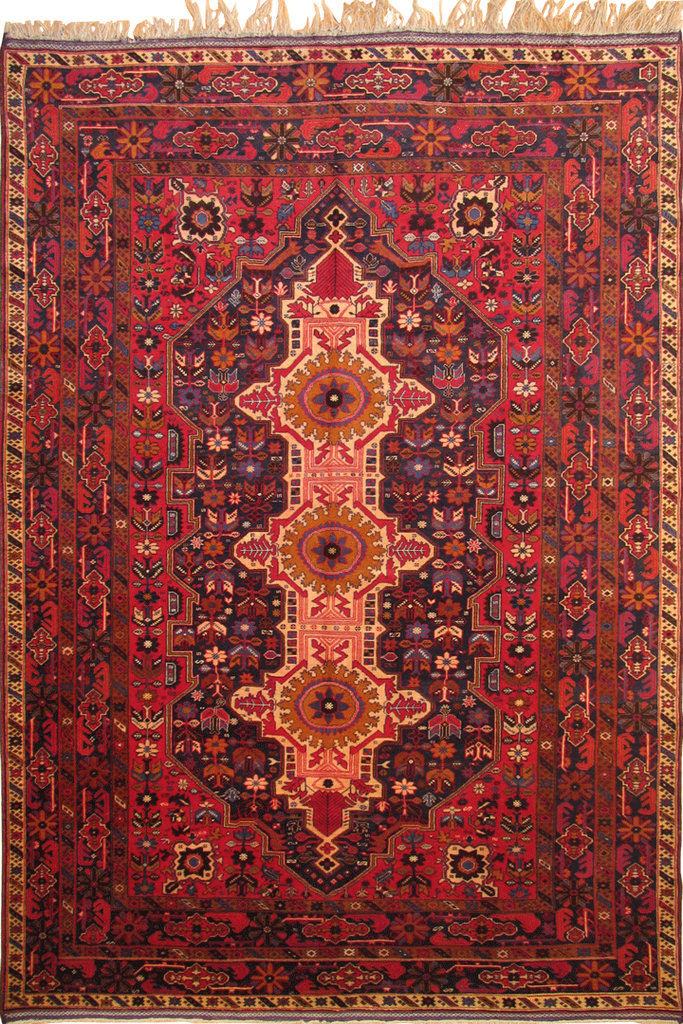 Khan Mohammadi Hand Knotted  Wool Rug