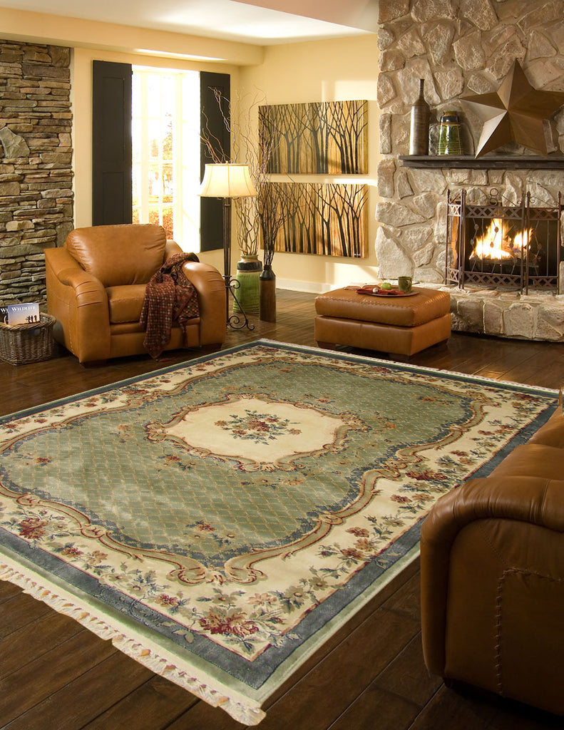 Mosaic Traditional French Design Rug
