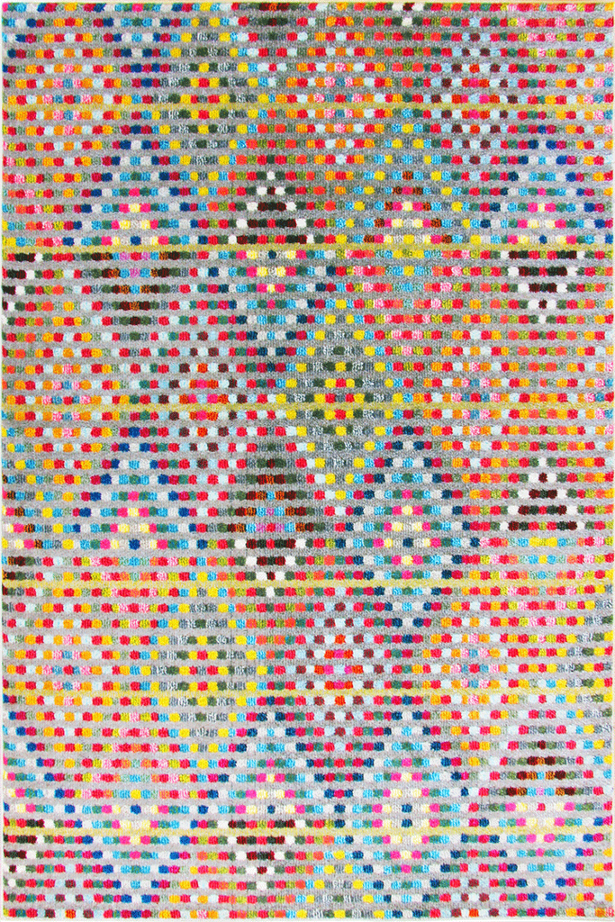 Kaleidoscope Diamond Pattern Rug