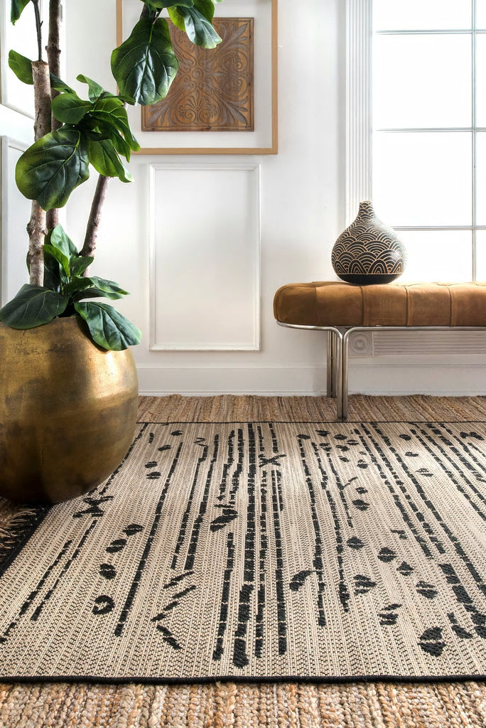 Charles Abstract Indoor Outdoor Rugs