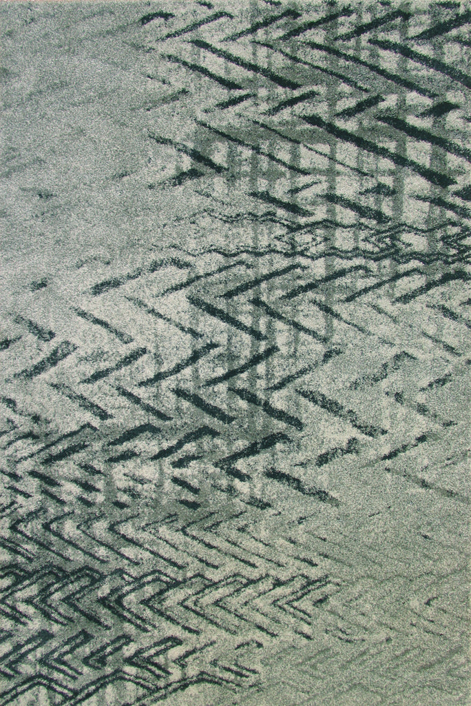 Brooklyn Modern Abstract Rugs - 9046-Silver