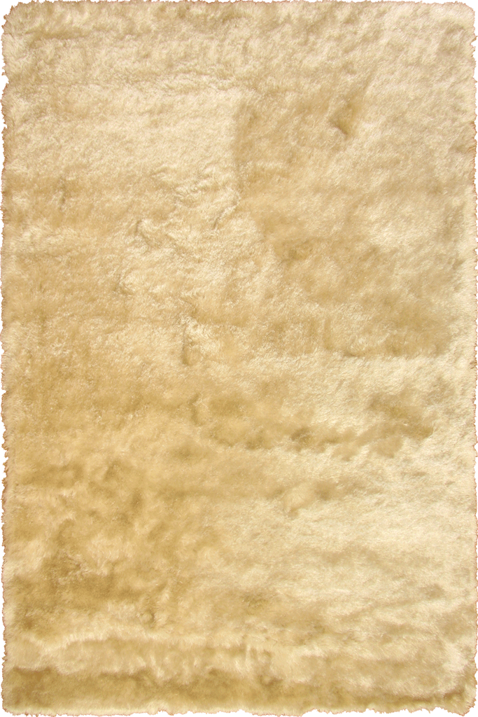 Ivory Shaggy Luxurious Plain Rug - Interior Design Style - Australia