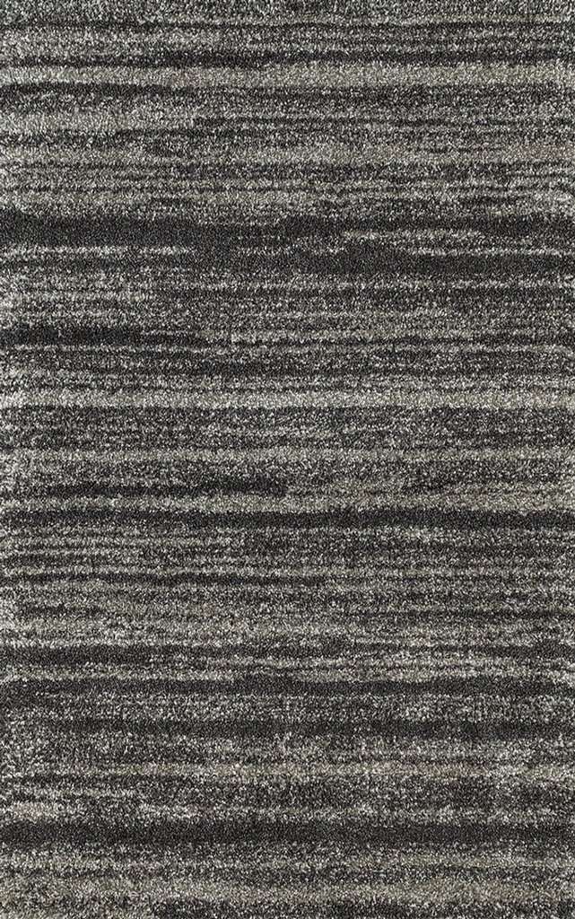 Coco Striped Shaggy Rug
