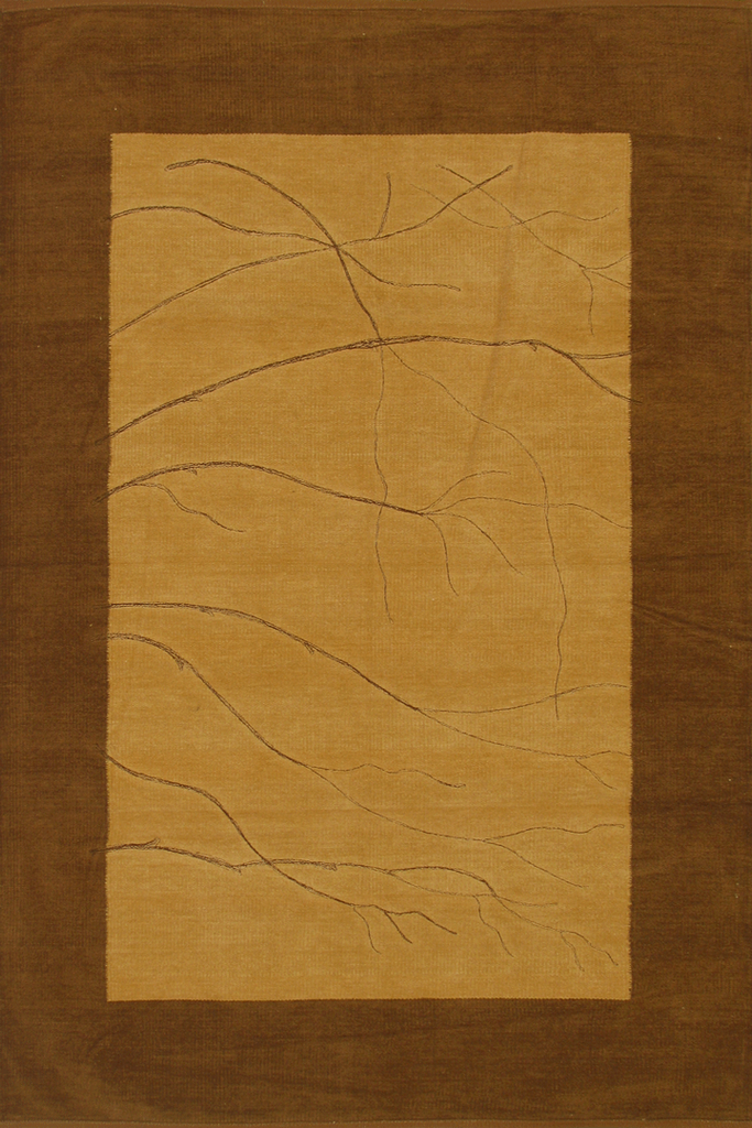 Brown Plain Flatweave Rug - Coastal Interior Design Style - Australia