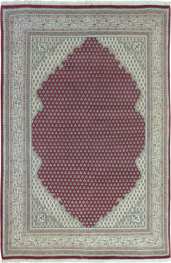Mir Oriental Hand Knotted Wool Rug - 238x167