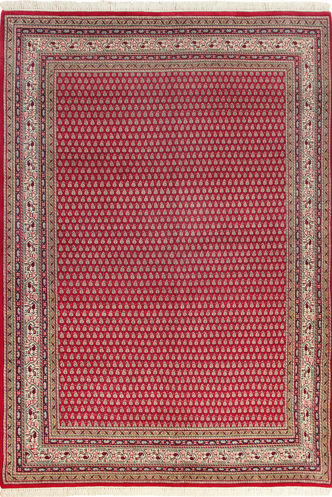 Mir Oriental Hand Knotted Wool Rug - 247x173