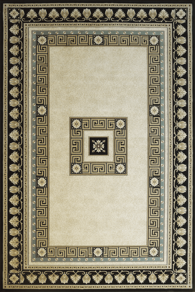 Milano Traditional Medallion Rugs  376J