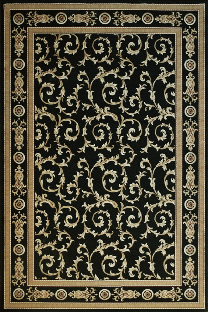 Milano Traditional Floral Rugs  54B