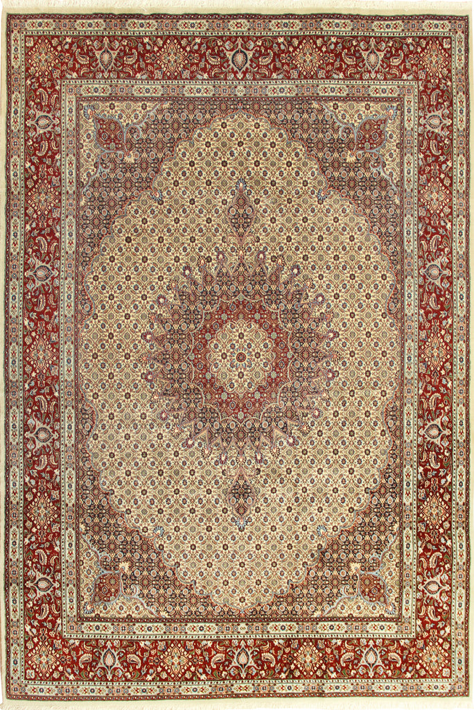 Moud Medallion Hand Knotted Wool 293x195