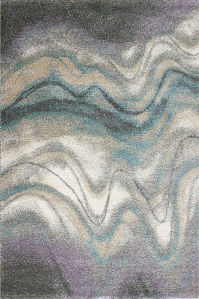Feathers Contemporary Abstract Rug