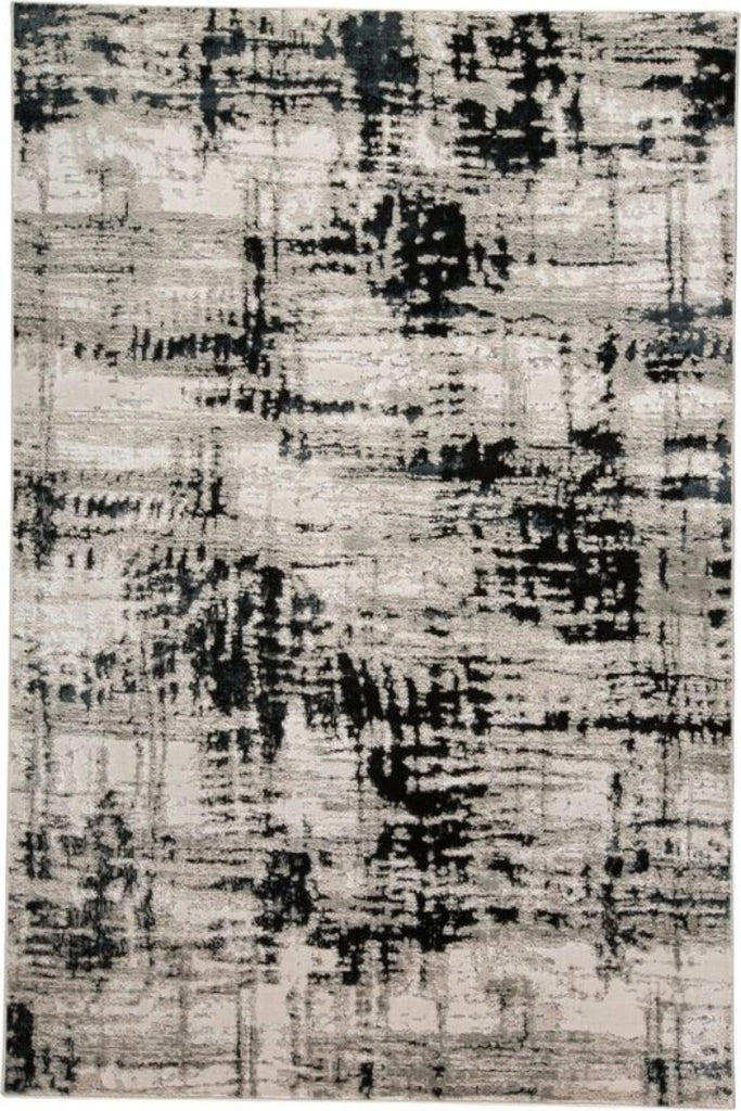 Monochromatic Distressed rugs - Modern Abstract Contemporary Interior Design Style - Australia
