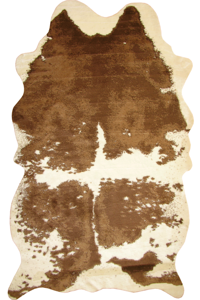 Faux Brown Cow Hide - Interior Design Style - Australia